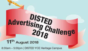 DISTED Advertising Challenge 2018 – DISTED College