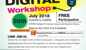 Creative Digital Workshop – DISTED College
