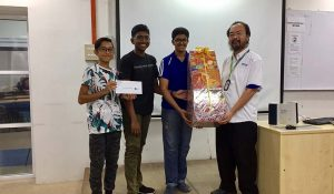 2nd Runner – Penang Free School walked away a hamper worth RM 70 +4 pcs of VIP tickets to 3D trick art museum.