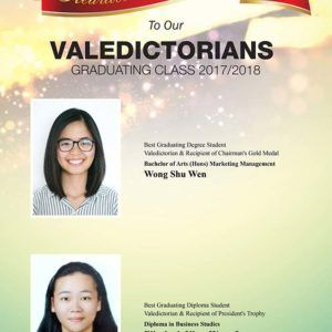 Meet Our Valedictorians – DISTED Colleg