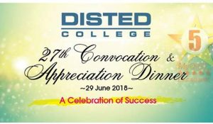 2018 DISTED Convocation & Appreciation Night – DISTED College